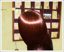頭皮に優しい酵素カラー